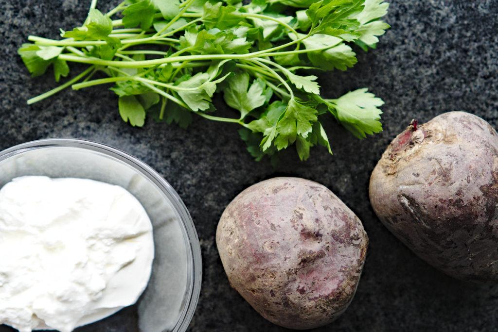 Zutaten für Rote Beete Salat