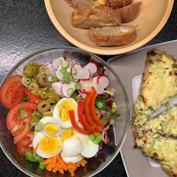 Bunter Salat mit Resten
