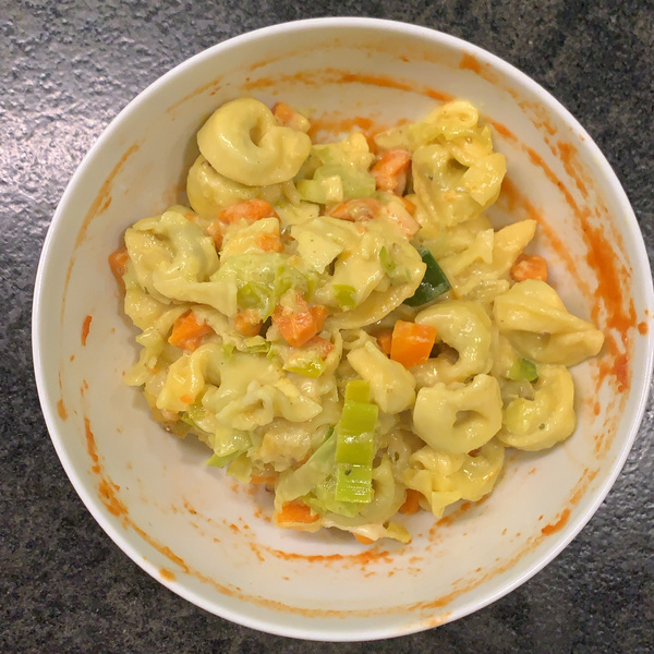 Tortellini-Gemüse-Auflauf